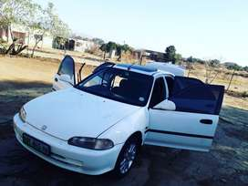 1995 Honda Ballade 160i Auto Luxline roadworthy and papers in order