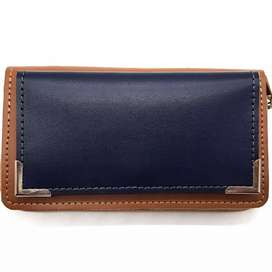 Ladies zipper wallet