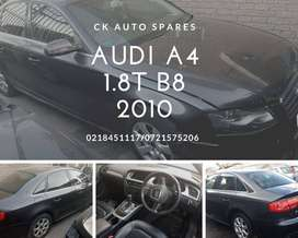 Audi A4 1.8T B8 2010 stripping for spares.