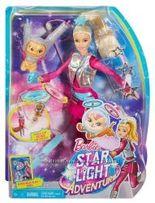 Barbie Star Light Galaxy Barbie Doll & Flying Cat, Барби и кот
