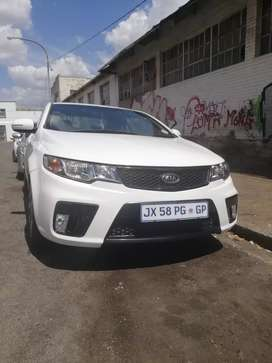 2012 Kia Cerato Koup 2.0L. 6 speed manual