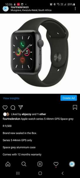 Apple watch Series 5 44mm GPS Space