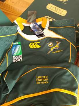 Springbok limited edition 2007