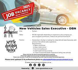 New Vehicles Sales Executive - DBN