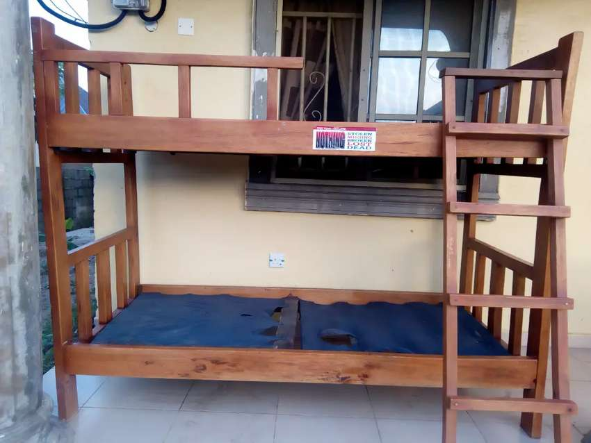 Strong and Stylish Double Decker Bed 0