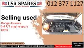 Dodge Journey 3.6 R/T 2007-19 used engine spare parts for sale