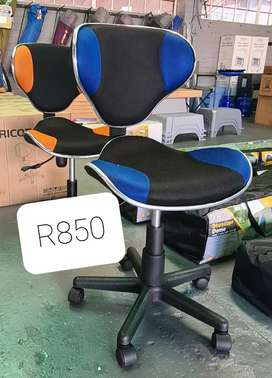 Mid Back Office Chair - Various colours