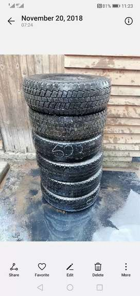 Tyres for sale 205/70 /15