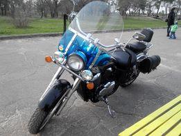 Фирменное американское стекло на Honda Shadow