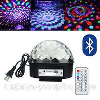 Светодиодный диско-шар LED Magic Ball 6 MP3 + блютуз