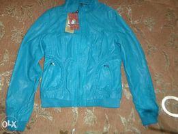 куртка кожзам новая
