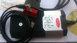 Delphi Делфи DS150E (autocom Автоком CDP pro) автосканер, зел.плата