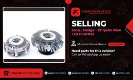 Selling Jeep, Dodge & Chrysler New Fan Clutches