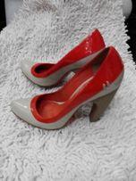 Мега стильные туфли Lilly's Closet кожа лак
