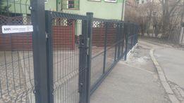Ogrodzenie panelowe 1530/4mm RAL podmurówka 20cm ogrodzenia