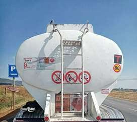 FUEL TANKER ON SPECIAL