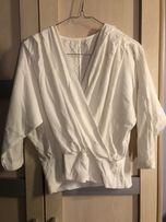 Sweter bluzka odkryte plecy S