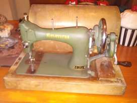 "Very old Husqvarna 10"" 705 hand sewing machine."