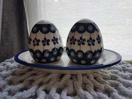Zestaw ceramika Bolesławiec Nowy Warszawa