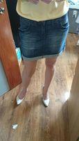 Jeansowa spódniczka Cross W29