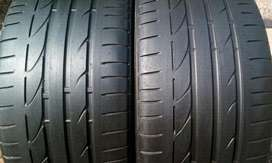 Bmw f30 rear 19 inches runflats tyres for sell
