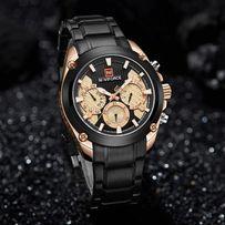 черно-золотые часы