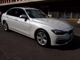 BMW 318i 3-series sedan white in color automatic