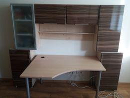 Продам мебельную стенку+стол+ 2 тумбы