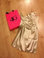 Sukienka 4G by Gizia/ Odkryte ramiona/ Sylwester/ Studniówka/ roz. 36