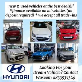 Hyundai Used And New Vehicles from R2199pm