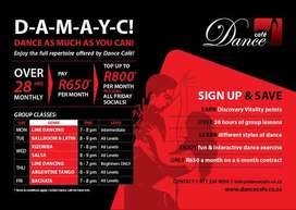 DAMAYC(Dance As Much As You Can)