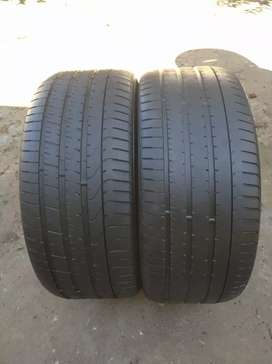 2 X 295/40/21 Pirelli Suv tyres for sell