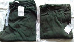 Koszulka i kalesony wojskowe specjalne khaki wz. 517 i 516 nowe