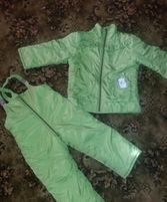 Зимний костюм,куртка и комбинезон