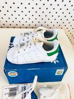 Кроссовки пинетки adidas stan smith оригинал, кожа 20 размер