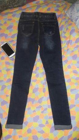 Новые джинсы 27рр с жемчугом Киев - изображение 2