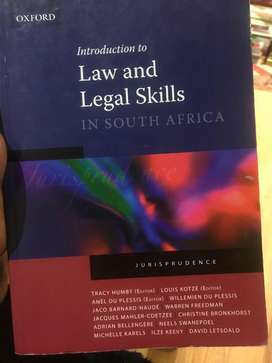 Introduction to Law and Legal Skills (Paperback)