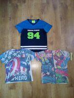 T-shirt bluzki chłopiec 122 cm Marvel Comics Avengers Sports Tech