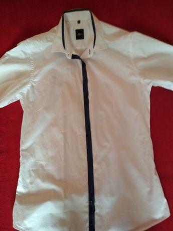 Koszula męska biała rozmar 39 Parczew - image 3