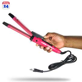 2 in 1 straightener and curling iron bargain sale