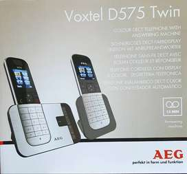 AEG D575 Twin Cordless Phones