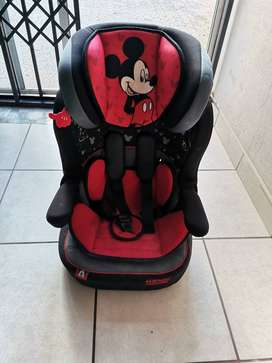 Mickey Mouse Car Seat