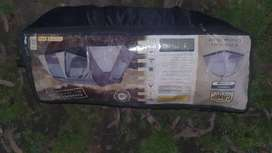 2 camping tents, Camp Master Dome 5 andDome 3