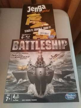Kids Games - Battleship & Jenga