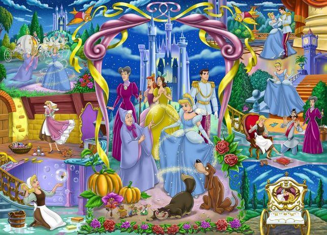 PUZZLE Supercolor KOPCIUSZEK Disney Princess 250 el. CLEMENTONI Otwock - image 4