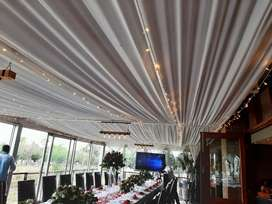 Unique Draping Decor