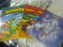 express publishing the cracow dragon puss in boots snow queen +płyty