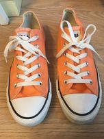 Krótkie converse pomarańczowe 40