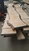 Deski foszty drzewo olcha dąb jesion wiąz orzech włoski tarcica Wood