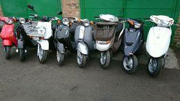 Японские скутера мопеды Honda Suzuki Yamaha с контейнера хонда tact